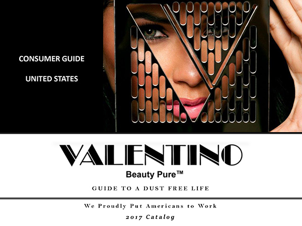 Valentino Beauty Pure 2017 Catalog - Nail Dust Collectors - Source Capture Systems - Salon and Spa Furniture